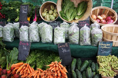 Farmer's Market / Misc. Vegetables Stock Photos