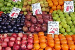 Farmer's market produce. Fresh, produce at an outdoor farmer's market Stock Images