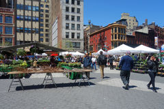 New York City Farmers Market Stock Photo