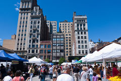 Union Square Park, New York city Royalty Free Stock Photos