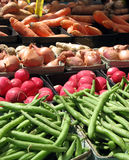 Farmer's Market Veggies Royalty Free Stock Images