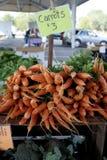 Farmer's Market Carrots royalty free stock photo
