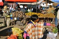 Farmer´s Sunday Market, Villa de Leyva, Colombia Stock Image