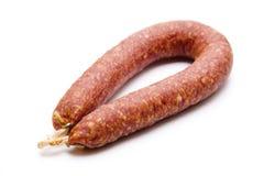 Farmer sausage Stock Image