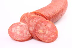 Farmer sausage Royalty Free Stock Images
