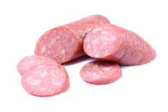 farmer sausage Royalty Free Stock Photo