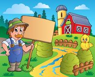 Farmer theme image 6 Royalty Free Stock Photography