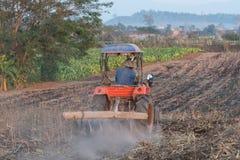 Farmer on truck Stock Photography