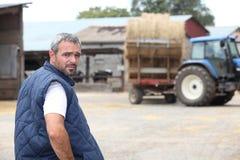 Farmer at work Royalty Free Stock Photo