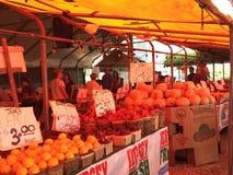 Farmer&#x27 ; marché de s dans le New Jersey Photo stock