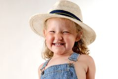 Farmers daughter stock photography