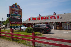 Farmers Daughter, Cape Breton Island Stock Image