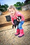 Farmers Daughter Royalty Free Stock Photos