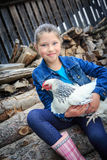 Farmers Daughter Stock Photos