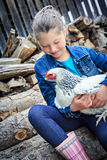 Farmers Daughter Royalty Free Stock Photography