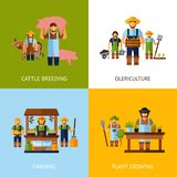 Farmers Design Concept Royalty Free Stock Image