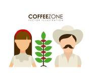 Farmers design Stock Image