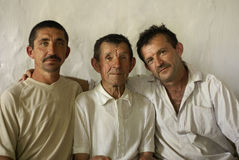 Farmers family Stock Photo