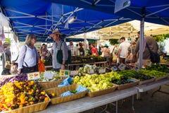 Farmers Greenmarket NYC Royalty Free Stock Photo