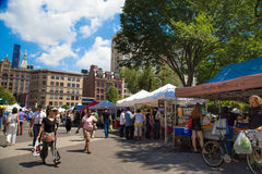 Farmers Greenmarket NYC Royalty Free Stock Images