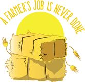 A Farmers Job Royalty Free Stock Photo