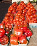 Farmers Market. Fresh vegetables at a farmers market in Minneapolis Royalty Free Stock Image
