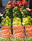 Farmers Market. Fresh vegetables at a farmers market in Saint Paul, Minnesota Royalty Free Stock Images