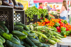 Farmers Market Stock Images