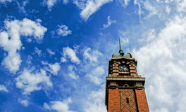 Farmers Market bell tower, Cleveland, Ohio. Royalty Free Stock Photography