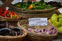 Farmers market for dinner Royalty Free Stock Photography