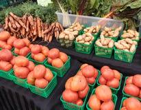 Farmers' Market Stock Image