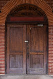 Farmers Market Door Royalty Free Stock Images