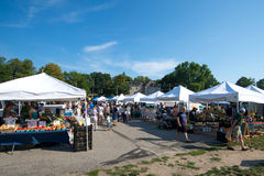 Farmers Market. At East Lansing, Michigan Royalty Free Stock Photo