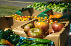 Farmers Market - Fresh Produce Stock Image