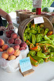 Farmers Market Fresh Produce Royalty Free Stock Photography