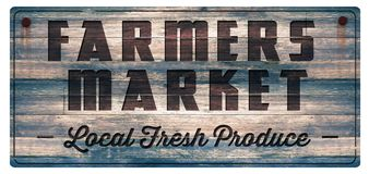 Farmers market fresh produce sign. Farmers Market Fresh Produce Wood Sign Vintage Antique Rustic Carved Food Local Stock Images