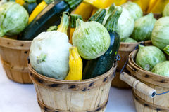 Farmers Market Fruits and Vegetables Royalty Free Stock Photos