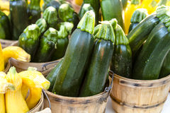 Farmers Market Fruits and Vegetables Royalty Free Stock Photo