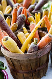 Farmers Market Fruits and Vegetables Stock Photography