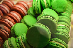 Farmers Market green cookies Stock Photos