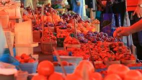 Farmers Market 3 stock footage