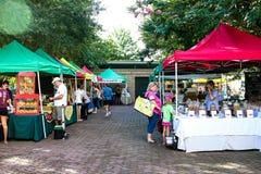 Farmers Market at Marion Square Park, King Street, Charleston, SC. royalty free stock photo