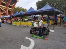 Farmers Market  at Paroi  Jaya, Seremban, Negeri Sembilan at Malaysia Stock Photos