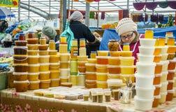 Farmers market in Pyatigorsk Royalty Free Stock Photography