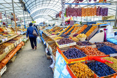 Farmers market in Pyatigorsk Royalty Free Stock Photo