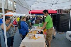 Farmers Market in San Antonio, Texas Royalty Free Stock Image