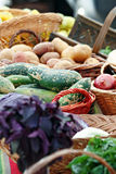 Farmers Market Vegetables Royalty Free Stock Photo