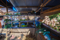 Farmers Market Vegetables Store Stock Image