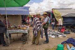 The farmers market in Villa de Leyva Royalty Free Stock Photo