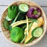 Farmers Organic Vegtables Royalty Free Stock Image